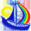 Unser Kindergarten in der Au Logo